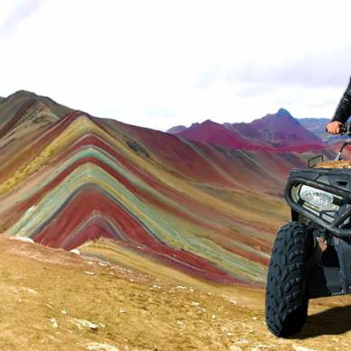 Visita la Montaña de 7 colores en Cuatrimotos o ATV
